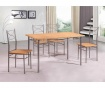 Set masa si 4 scaune pentru exterior Vera Cream