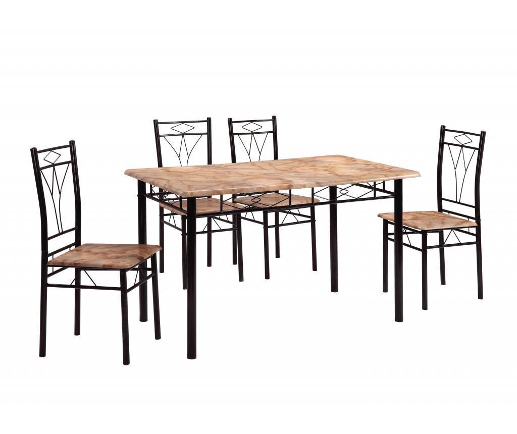 Set vrtna miza in 4 stola Vera Multi