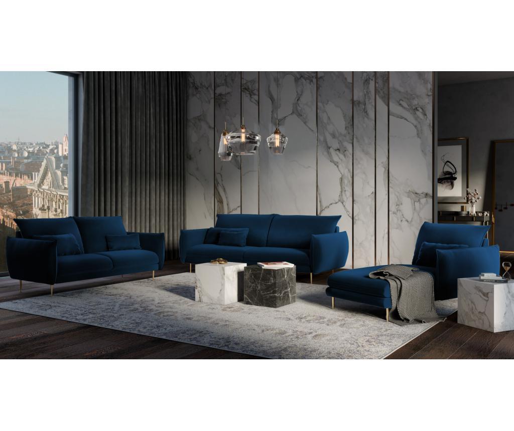 Sofa cu 2 locuri Biagio Royal Blue