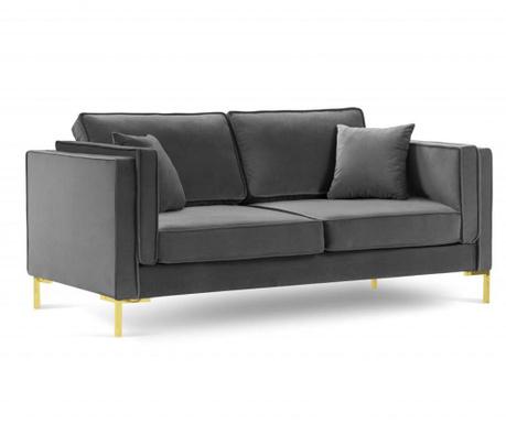 Sofa cu 2 locuri Giuseppe Grey