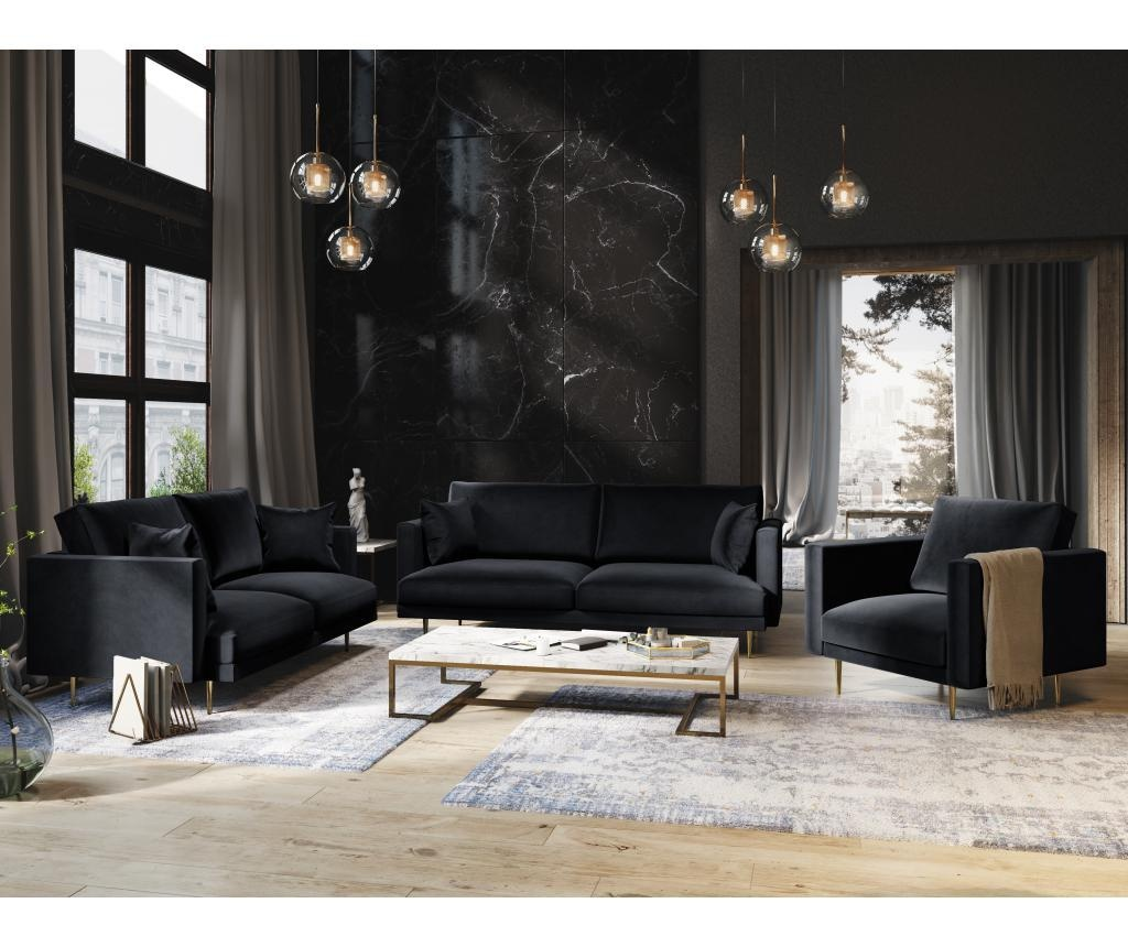 Sofa cu 3 locuri Brunello Dark Blue