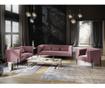 Sofa cu 3 locuri Carla Dark Pink