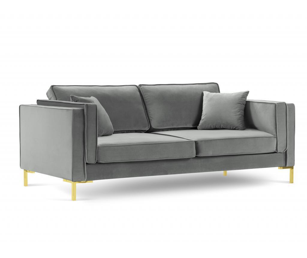 Canapea cu 3 locuri Giuseppe Light Grey