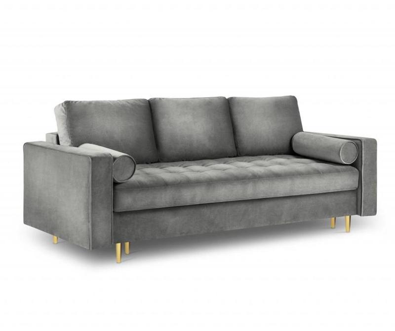 Canapea extensibila cu 3 locuri Santo Grey