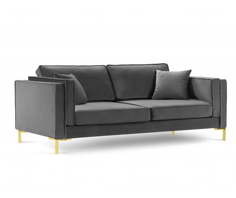 Sofa cu 4 locuri Giuseppe Grey