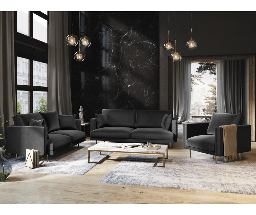 Fotoliu Brunello Dark Grey