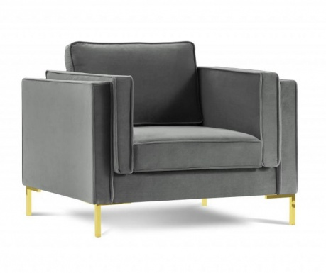 Fotelj Giuseppe Light Grey