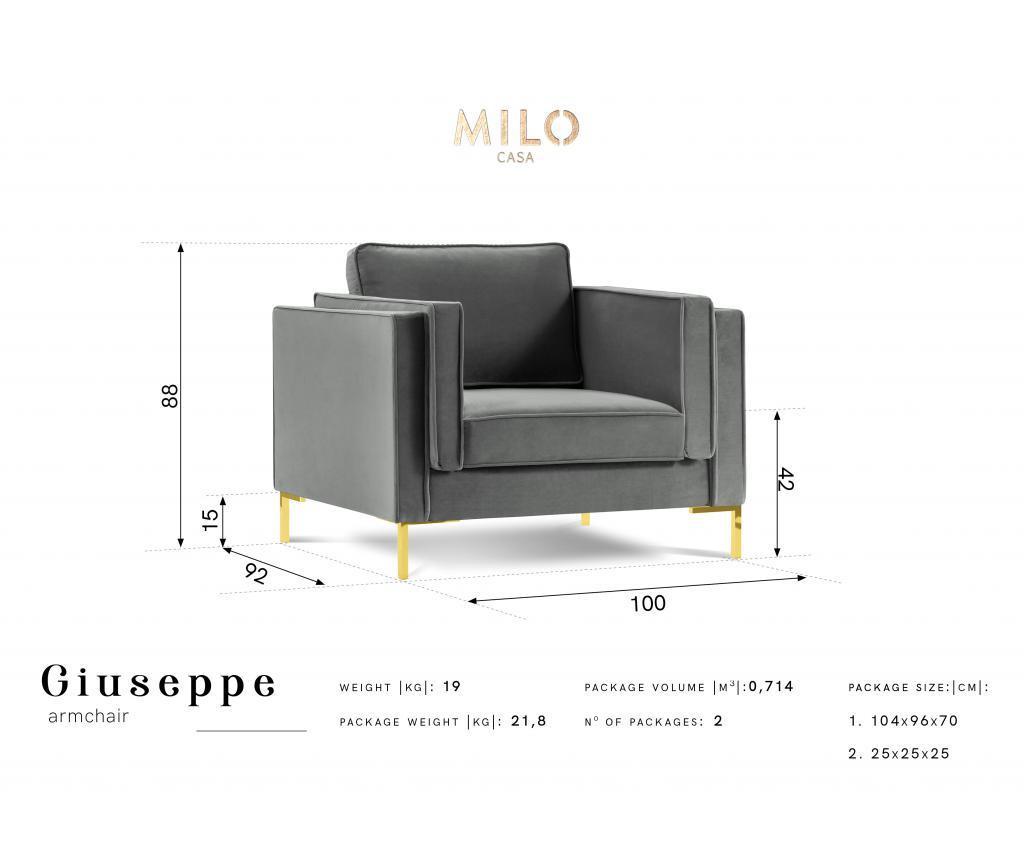 Giuseppe Dark Blue Fotel