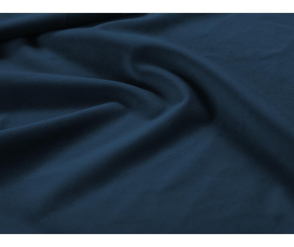 Raztegljiva leva kotna sedežna garnitura Valentina Royal Blue