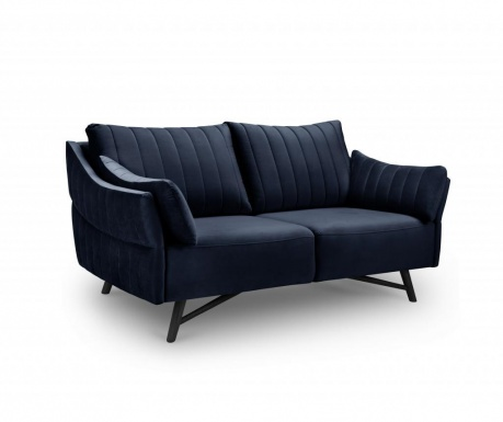 Sofa trosjed Louvres Navy Blue