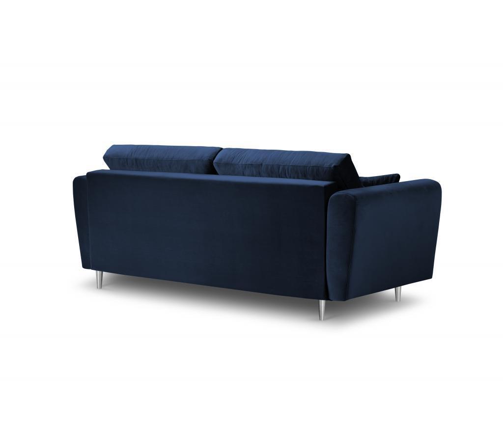 Canapea 3 locuri Deauville Royal Blue
