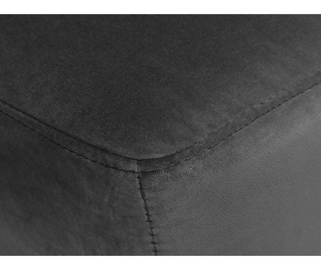 Taburet Elysee Dark Grey