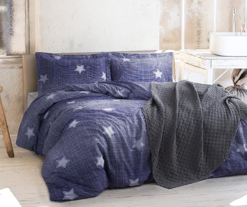 Комплект спално бельо King Ranforce T-star Blue