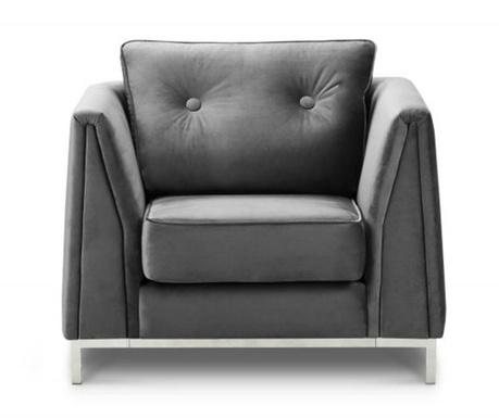 Fotelja Amour Light Grey