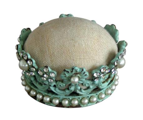 Polštářek na jehly Crown
