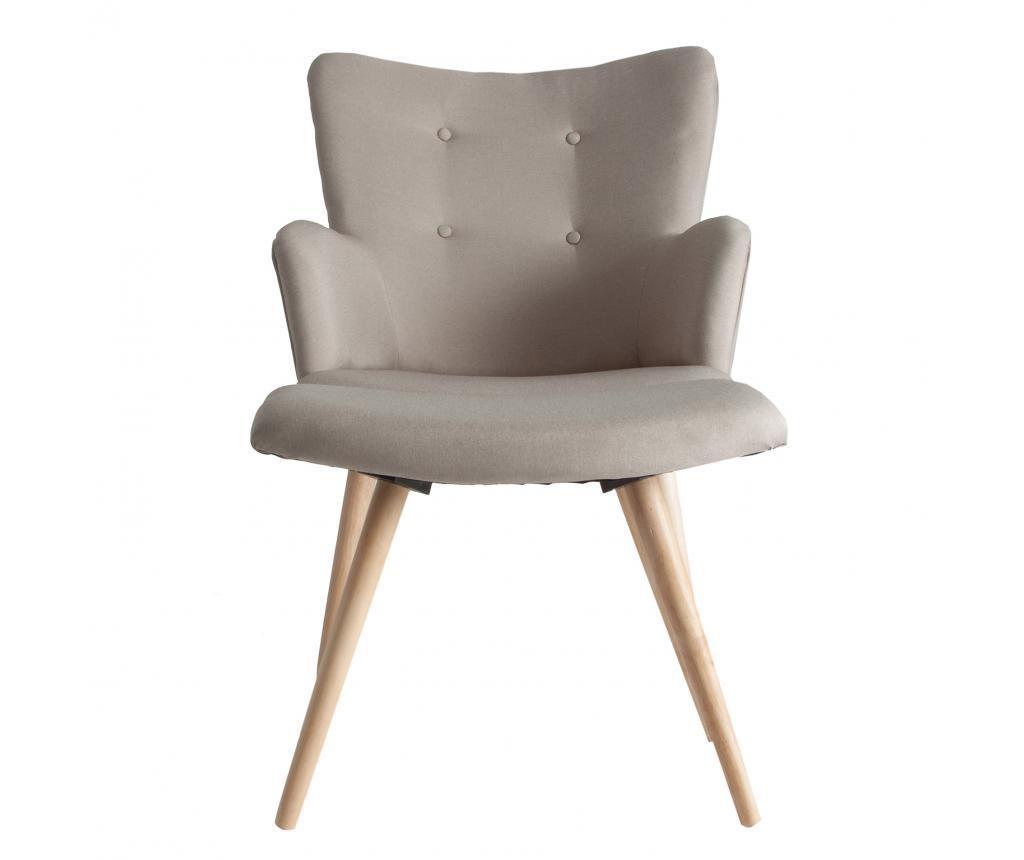 Set fotoliu si scaunel pentru picioare Boston