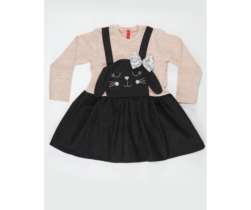Dječja haljina Black Bunny 5 god.
