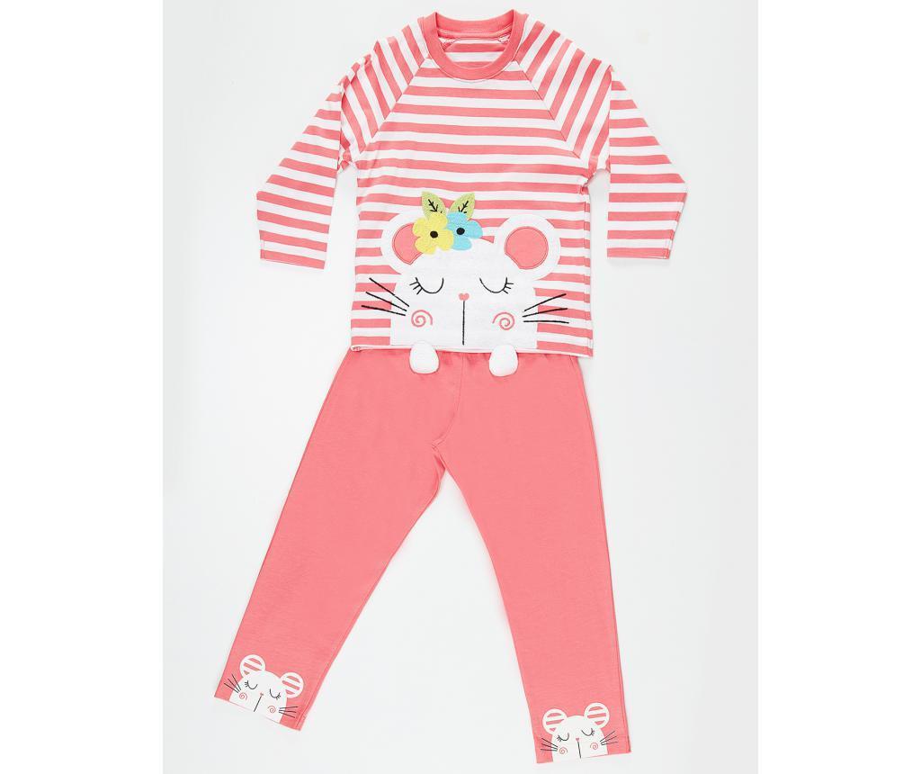 Pijama pentru copii Little Mouse 6 ani