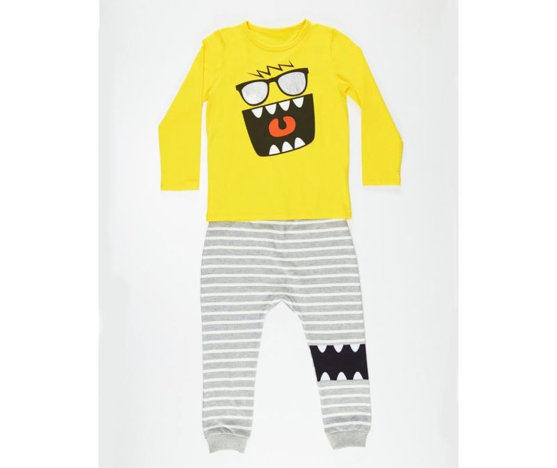 Set bluza si pantaloni pentru copii Mr Glasses 5 ani