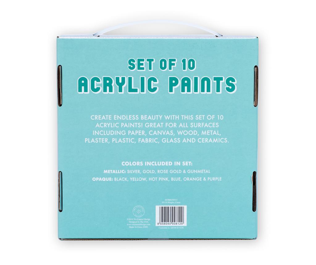 Set 10 set akrilnih barv
