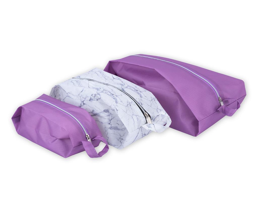 3 db poggyász-szervező készlet