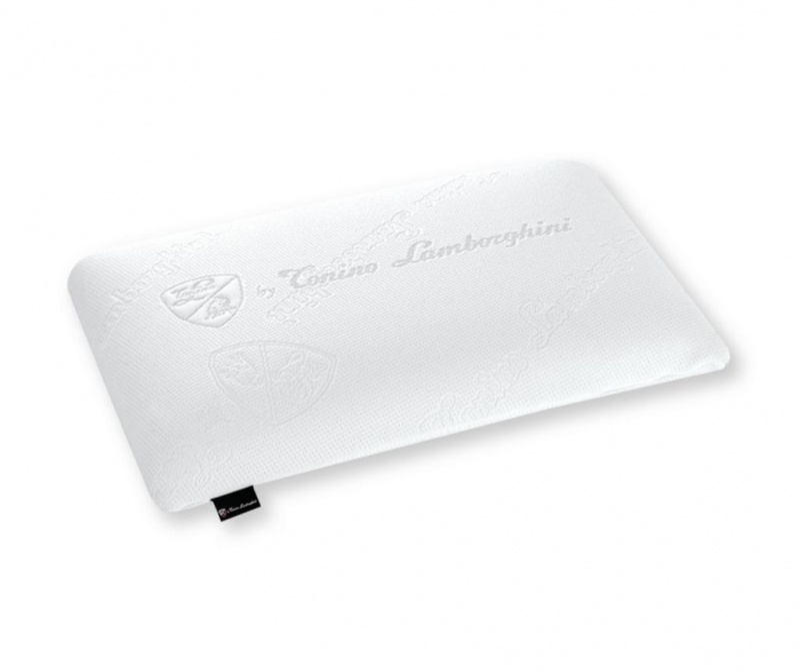 Perna din spuma cu memorie Magniflex Tonino White by Tonino Lamborghini 42x70 cm