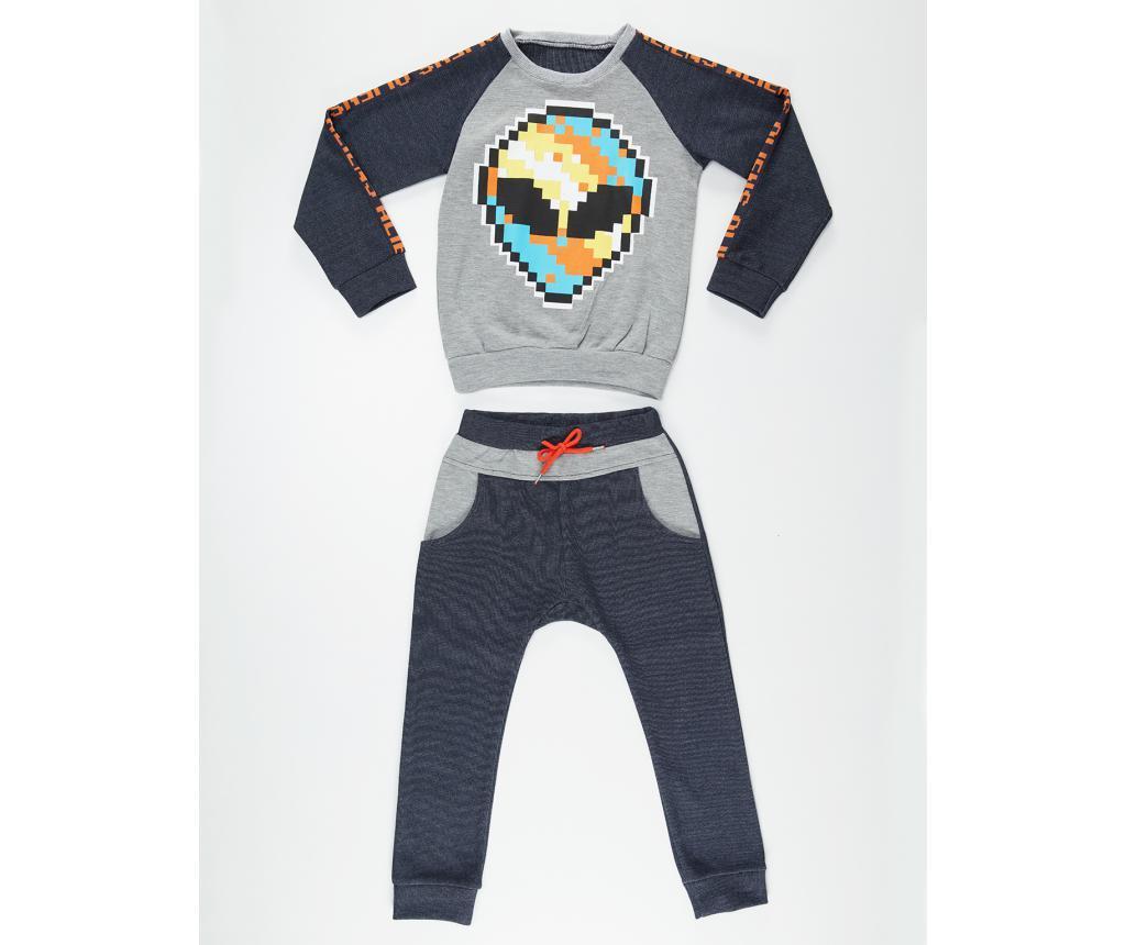 Set dječja bluza i hlače Alien 6 god.