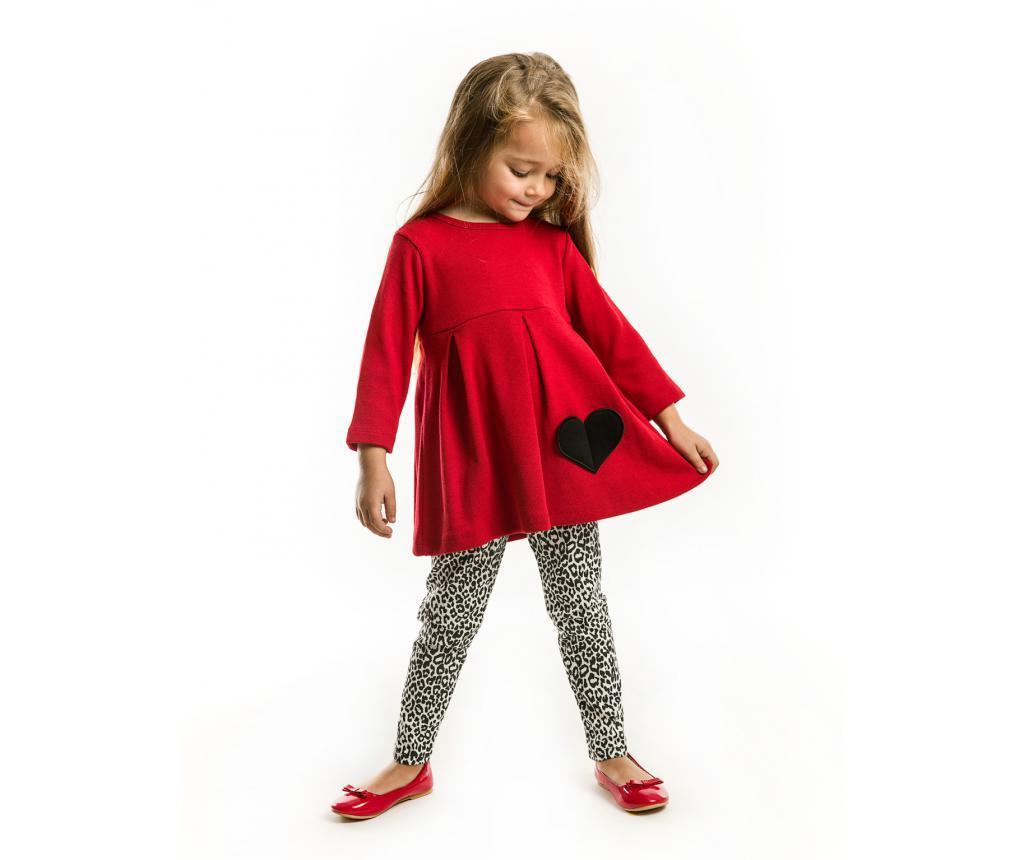 Set tunica si colanti pentru copii Redish 5 years