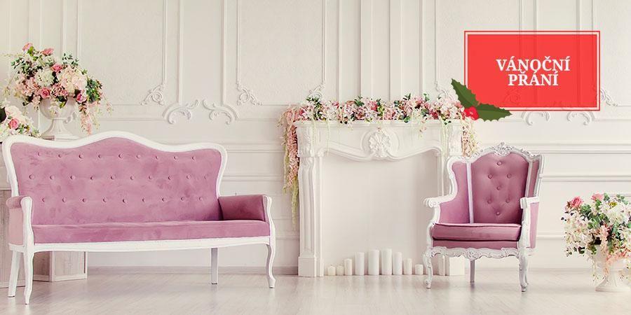 Vánoční Přání: Růžové odstíny