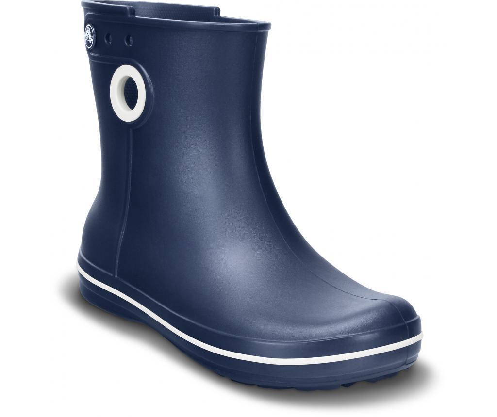 Otroški dežni škornji Crocs Jaunt Shorty Boot W Blue 37-38