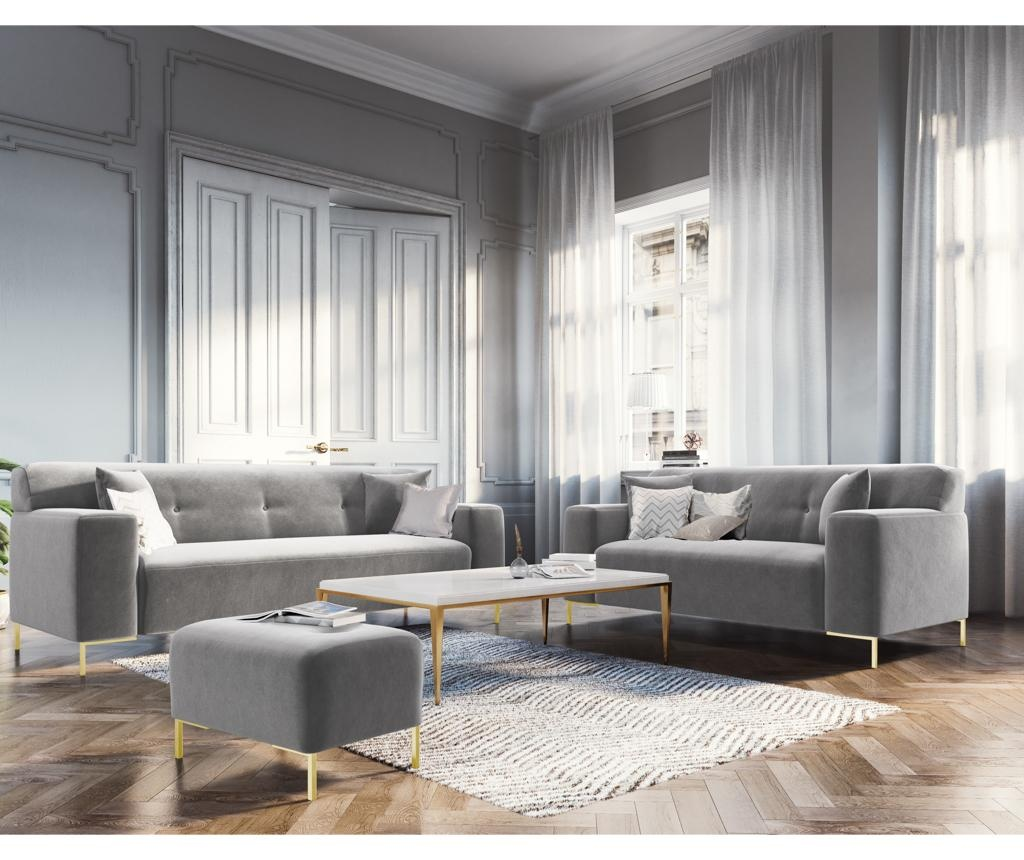 Sofa dvosjed Rhythm Light Grey