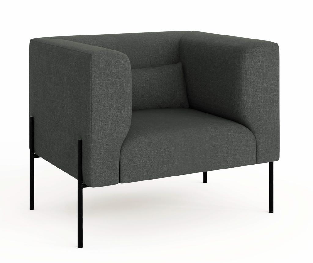 Fotelja Nina Dark Grey