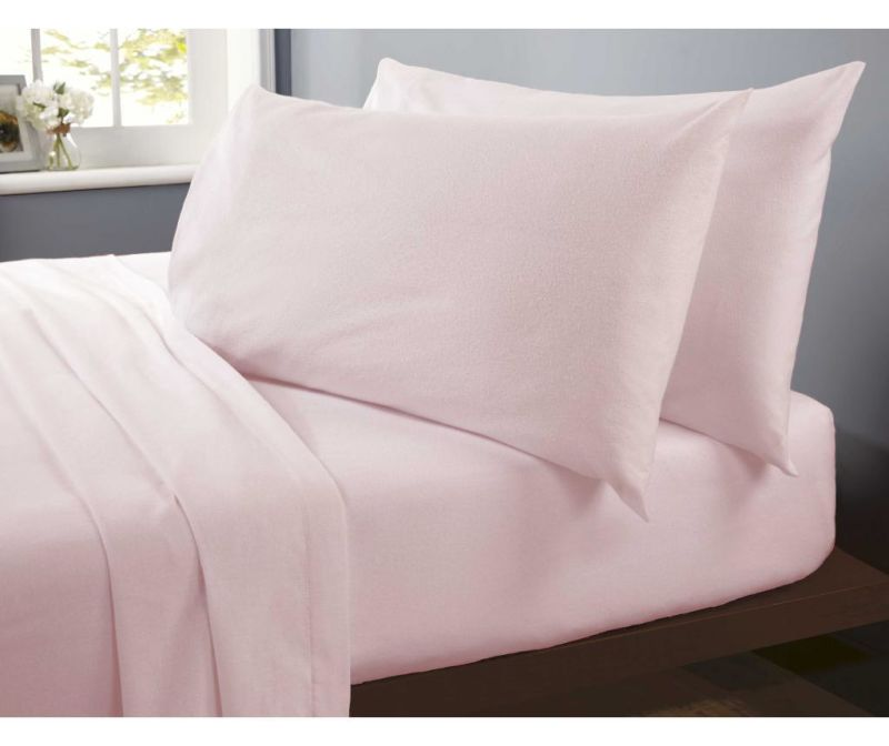 Rjuha z elastiko Single Flannelette Pink