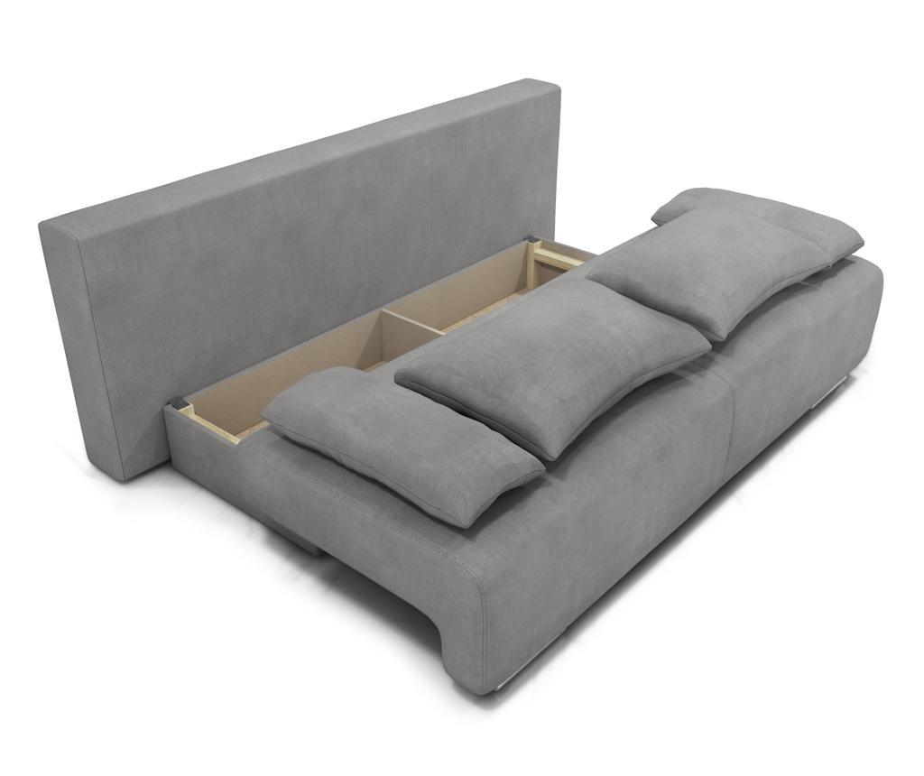Canapea extensibila 3 locuri Georgia Enjoy Grey