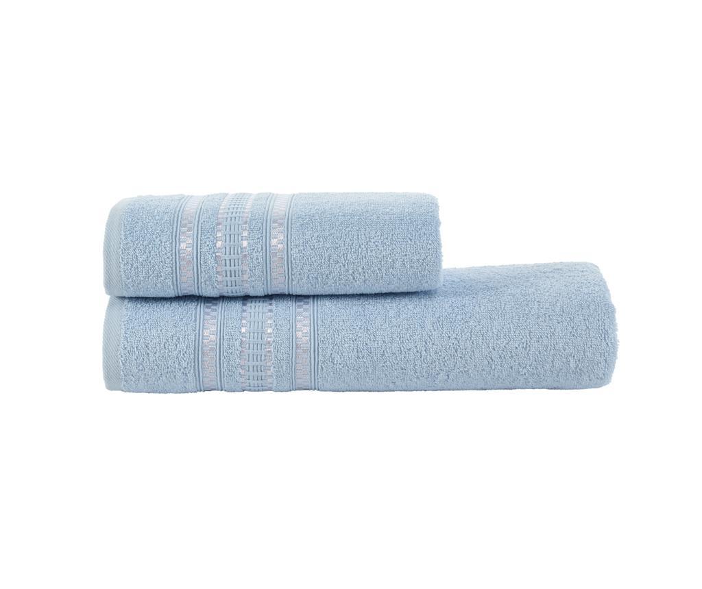 Set 2 ručnika Diana Blue
