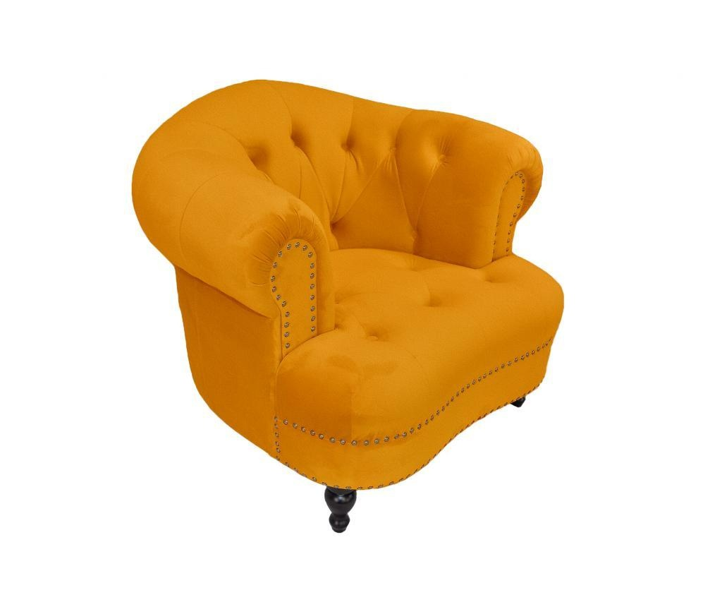 Fotelj Klara Yellow