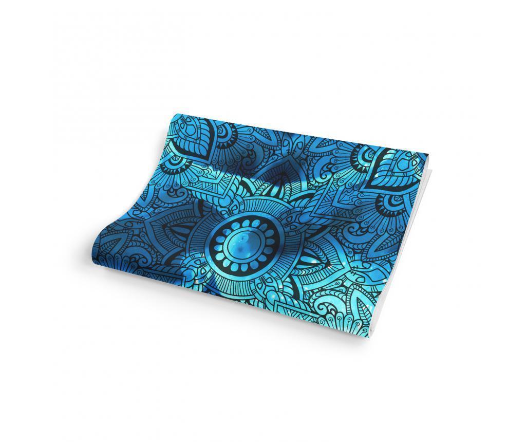 Prostirka za jogu Dazzling Blue 65x185 cm