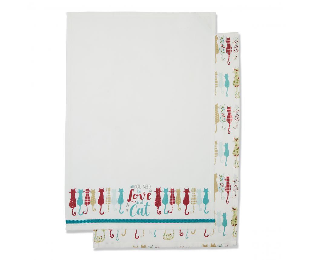 Ręcznik Colourful Cats 45x65 cm