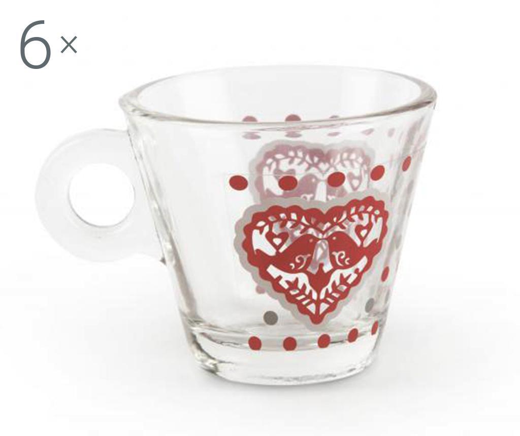 6 db Kávés pohár
