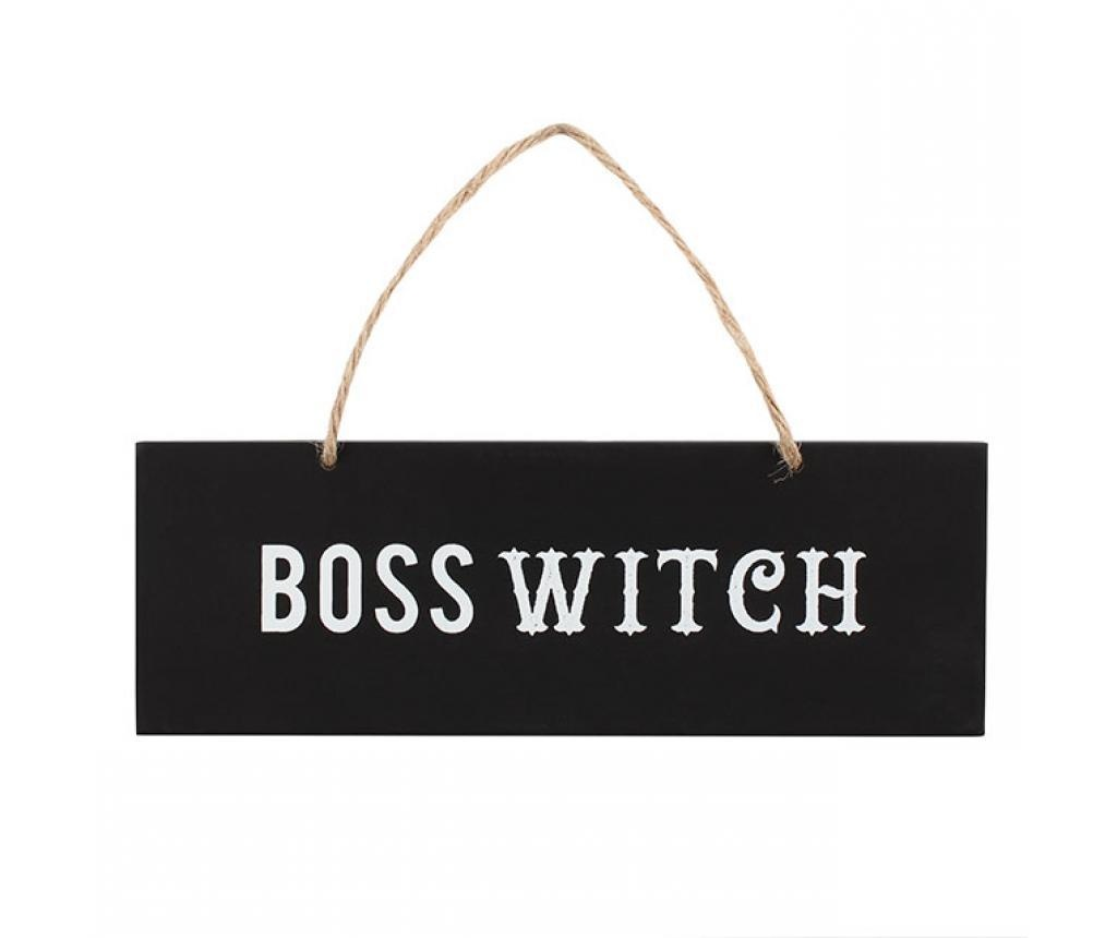 Zidni znak Boss Witch