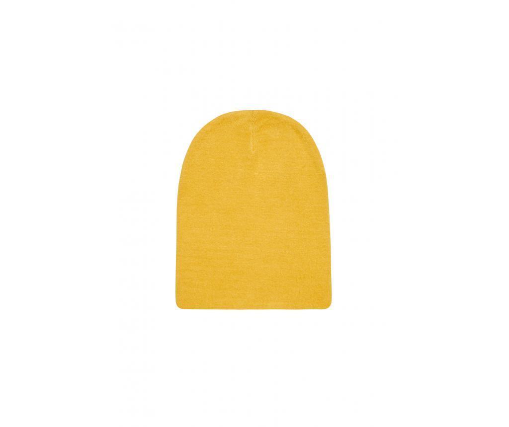 Dámska čiapka Feli Mustard