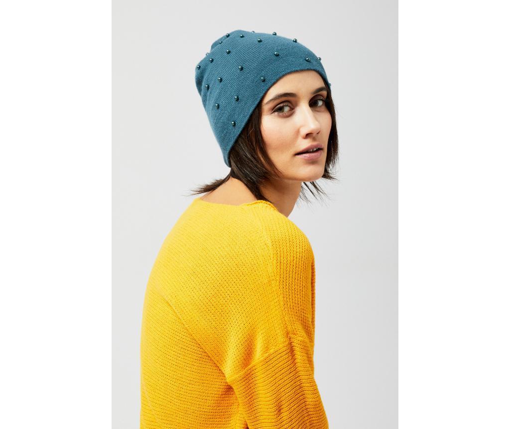 Ženska zimska kapa Eva Dark Green