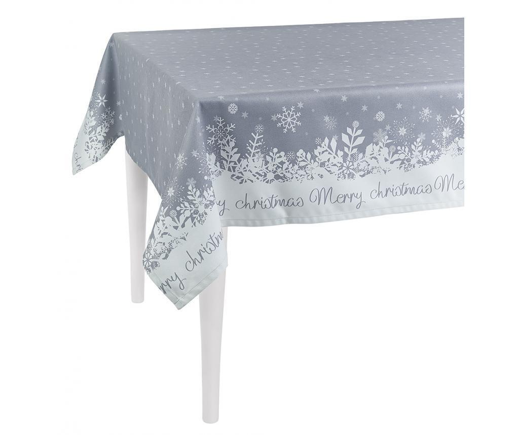 Stolnjak Merry Christmas Grey 140x180 cm