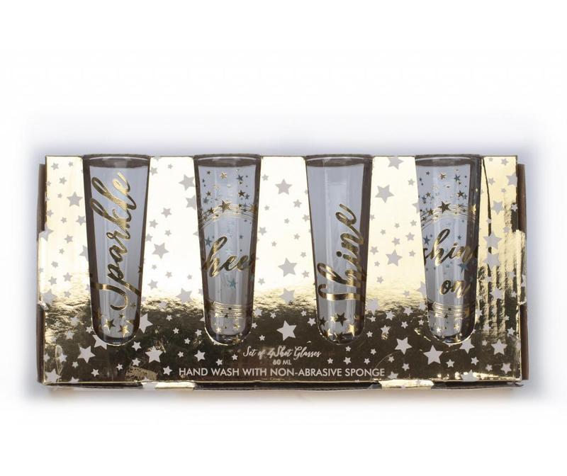 Set 4 čaša za shot Starry Night