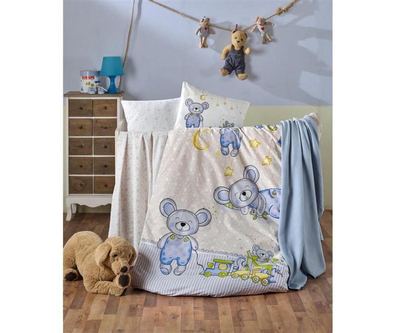 Posteljina za krevetić Tedy Boy
