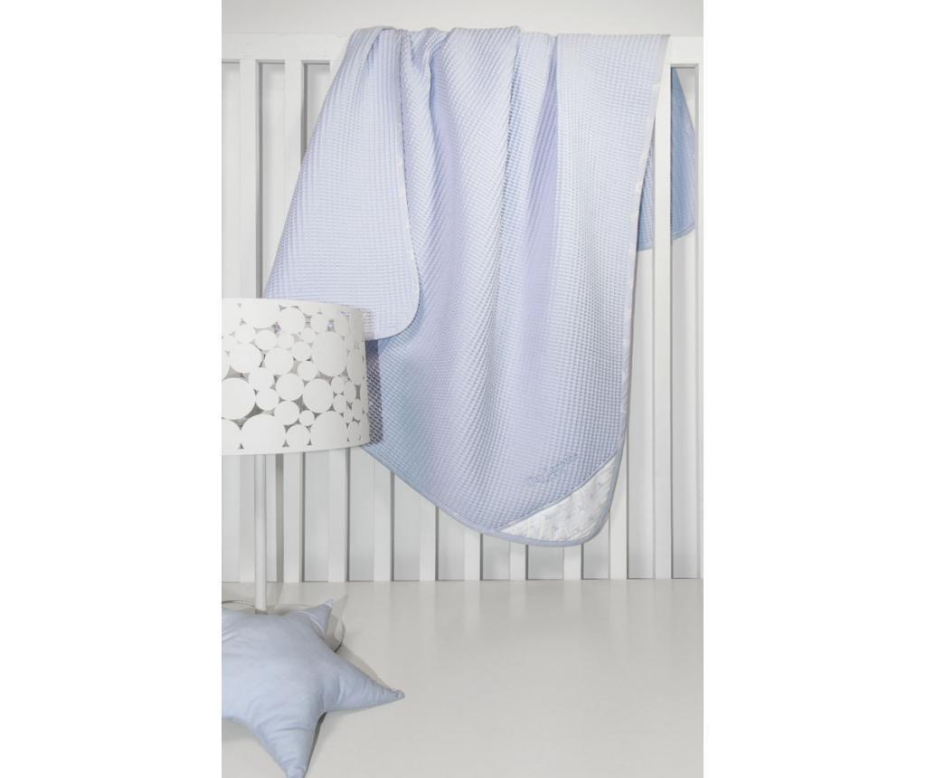 Pokrivač za koljevku Heaven Blue 110x150 cm