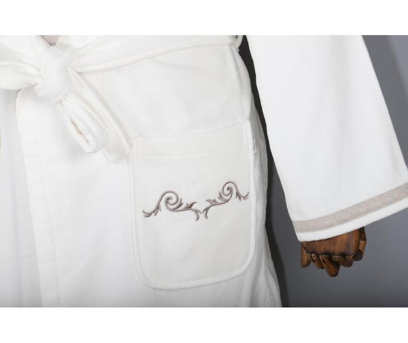 Ženski kupaonski ogrtač Hera Cream L
