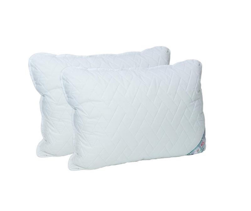 Set 2 prošivena jastuka HypoallergenicMed 70x70 cm