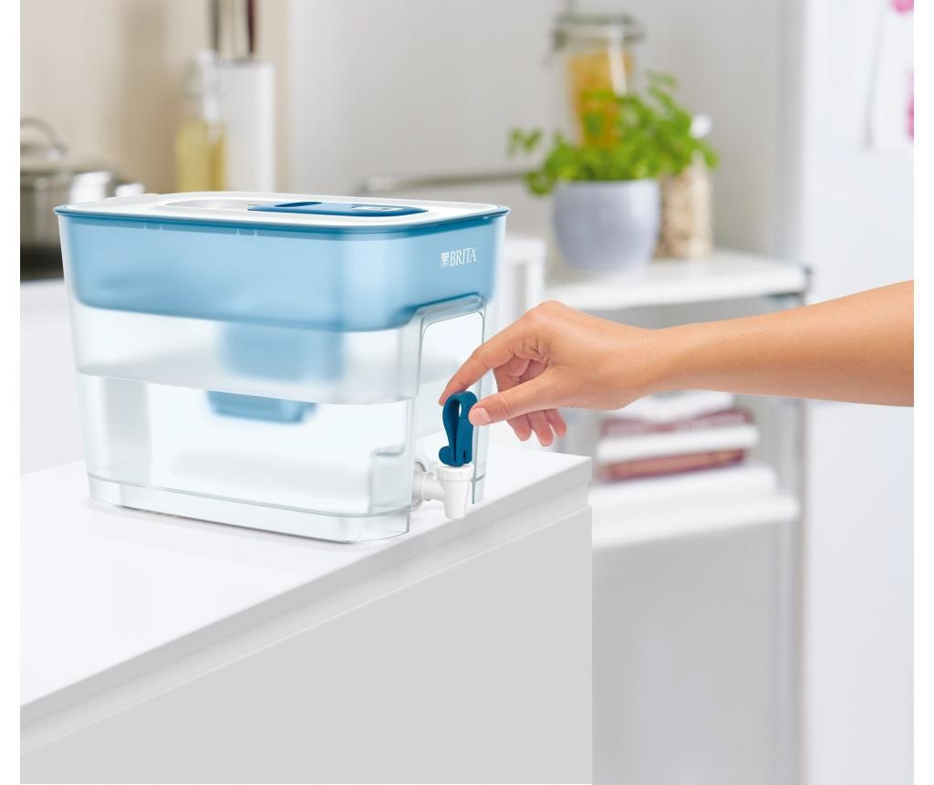 Vrč s filterom za vodu Flow Blue 8.2 L