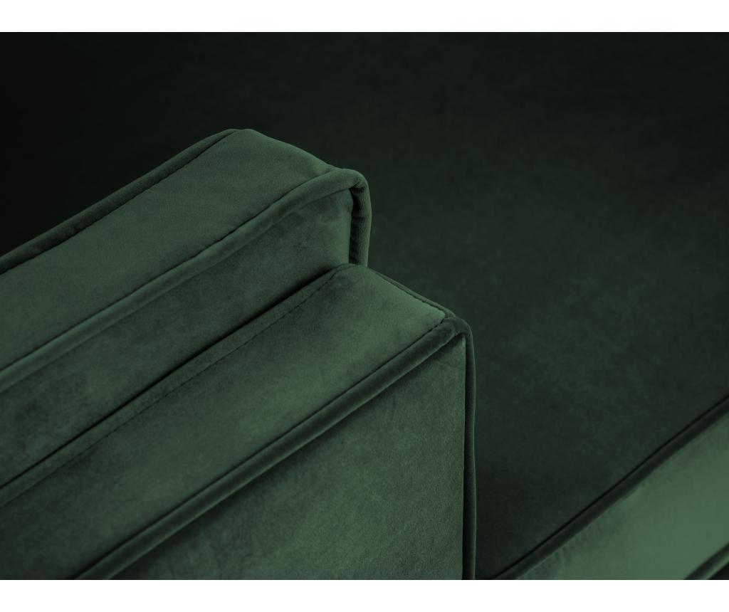 Desna kotna sedežna garnitura Giuseppe Bottle Green